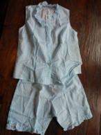 Pijama Met Korte Pijpen, Vintage - Vintage Clothes & Linen