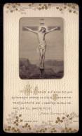 Santinho = Pagela Religiosa Reverenda Madre GUILHERMINA SARMENTO,filha General Morais Sarmento BODAS De OIRO 1890 - 1940