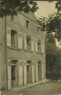 38 MAUBEC Près De BOURGOIN-SALLIEU  Carte Photo Rare Voyagée En 1923 Signée Th. Pellot - Autres Communes