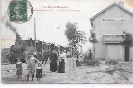 BEAUMONT SUR LEZE - La Gare Du Sud-Ouest - TRAIN - France