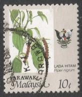 Sarawak. 1986 Crops. 10c Used. SG 250 - Malaysia (1964-...)