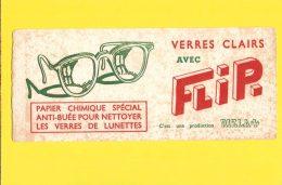 BUVARD :FLIP Papier Chimique PouR Verre De LUNETTES - Papeterie