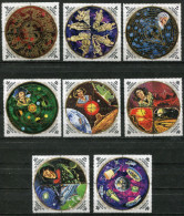 A25 - BURUNDI 1973 Copernicus Set. CTO. Never Hinged. Astronomy, Space Travel, Zodiac, Galaxy Map - 1970-79: Used