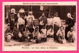 """Sœurs Saint Joseph De L´Apparition - Mandalay - Les Vieux """" Bébés """" De L'Orphelinat - HELIO AULARD - Cartes Postales"""
