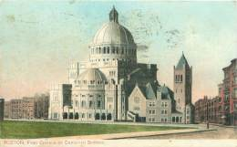 BOSTON - First Church Of Christian Science - Boston