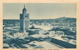 Vue Générale De TUNIS - Tour De La Grande Mosquée - Tunisie