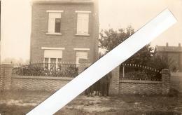 Oostham : Familiefoto Voor Huis --- Fotokaart - Ham