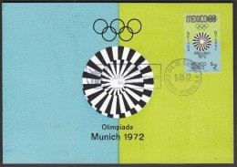Mexico 1972 Olympic Games Munich 1972 - Ete 1972: Munich
