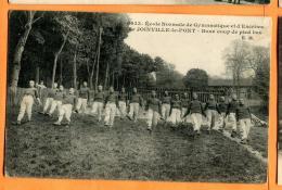 MBY-15 Boxe Français Coup De Pied Bas. Ecole Normale De Gymnastique Et D'Escrime Joinville-le-Pont.Circulé En 1915 - Boxing