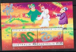 Christmaseiland Y/T  Blok 23 (**) - Christmas Island