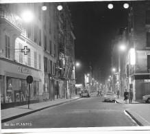 PARIS DES ANNEES 1960  RUE DES PLANTES  PEUGEOT 404 - Riproduzioni
