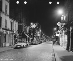PARIS DES ANNEES 1960  RUE SAINT CHARLES PEUGEOT CITROEN RENAULT MERCEDES Volkswagen FRIGIDAIRE TELEFUNKEN - Riproduzioni