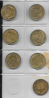 FRANCE 1933-1944 Morlon 1F Lot De 7 Pièces De Monnaie / Coin / Münze Bronze [J04a] - Collections
