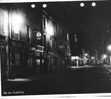 PARIS DES ANNEES 1960  RUE DES PLANTES WATERMAN - Riproduzioni