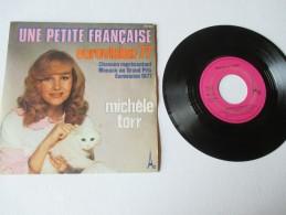 MICHEL  TORR   ---   UNE  PETITE  FRANCAISE  // LE  MAL  DE  MAI    ---   2 Photos - Disco, Pop