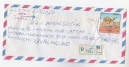 1999 REGISTERED Air Mail KUWAIT Stamps COVER  To GB - Kuwait