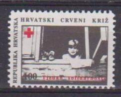 CROAZIA 1993 BENEFICENZA  CROCE ROSSA CROATA  YVERT. 27 MNH XF - Croazia
