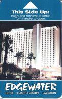 Edgewater Casino Hotel Room Key - Laughlin, NV - Hotel Keycards