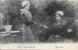 DEPT 34 - AGDE - Types D'AGATHOISES - Edit Litardi - 218/VANH - - Agde