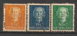 Timbres - Pays-Bas - 1949-1950 - Lot De 3 Timbres - - Periodo 1949 - 1980 (Giuliana)