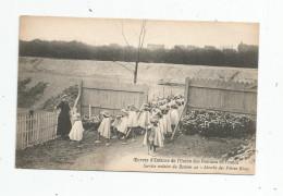 Cp , école , Service Scolaire Du BASTION 42 , Marche Des Pâtres Grecs , Vierge - Schools