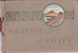 """Bildband """"Souvenir Of Egypt"""" Mit 20 Farbigen Abbildungen (20 ARTISTIC VIEWS) - Bücher, Zeitschriften, Comics"""