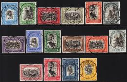 1928. PORTUGAL. Complete Set With 16 Stamps.   (Michel: 456-471) - JF193553 - Usado