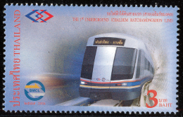 THAILAND - 2004 - Mi 2300 - BANGKOK METRO - MNH ** - Tailandia