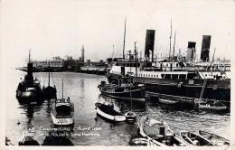 Cpa Brillante N Et B Cherbourg Bateau Pilote CH1 1930 Avant Port  CIRCULEE 1946 - Handel