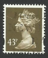 Great Britain, 43 P. 1996, Sc # MH268, Mi # 1635CS, Used - Machins