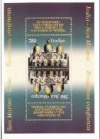 1994 San Marino Saint Marin 900° BASILICA DI SAN MARCO Foglietto MNH** Souv. Sheet - Chiese E Cattedrali