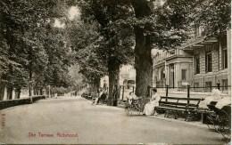SURREY - RICHMOND - THE TERRACE 1910 Sur282 - Surrey