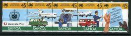 SAMOA ( POSTE ) : Y&T N° 644/648  TIMBRES  NEUFS  SANS  TRACE  DE  CHARNIERE , A VOIR . - Samoa