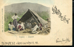 HUNGARY GIPSYS ZIGEUNER 1899 VINTAGE POSTCARD - Europe