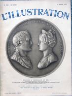 ILLUSTRATION N° 4792 / 05-01-1935 NAPOLÉON MARIE-LOUISE VAUDREVANGE BALOUTCHISTAN BIRMANIE MONASTIR GY-L'ÉVÊQUE POTEZ 58 - Newspapers
