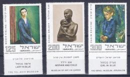 Israel, 1974, Mi 609-611** MNH - Unused Stamps (with Tabs)