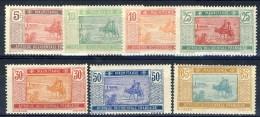Mauritania 1924-27 Serie N. 39-49 Lotto Di 7 Valori MNH E MH Catalogo € 6 - Unused Stamps