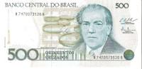 Brazil - Pick 212c - 500 Cruzados 1987 - Unc - Brasile