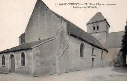 CARTE POSTALE ANCIENNE. LOIR-ET-CHER. SAINT-GEORGES-SUR-CHER. - Autres Communes