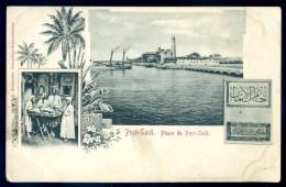 Cpa Egypte Port Said -- Phare De Port Said  LIOB32 - Port Said