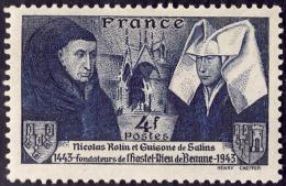 FRANCE  1943  -  Y&T   583  -  Rolin   -  NEUF** - France