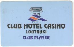 Greece-Club Hotel Casino Loutraki - Casino Cards