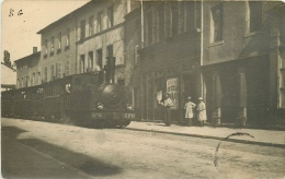 CPA Pontcharra-Train CFB-RARE    L2082 - Pontcharra-sur-Turdine