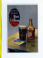 Nox Brau Brune De France.   Amateurs De Munich   Publicité Carte Postale Biere Brasserie - Werbepostkarten