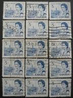 CANADA N°382 X 14 Oblitéré - Timbres