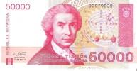 Croatia - Pick 26 - 50.000 (50000) Dinara 1993 - Unc - Croazia