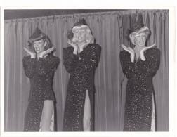 3- SUEDE SWEDEN Stocklom -Drag Show Travesti Transsexuel Cross-dresser - Vers 1982 -gay Homosexualité -ph Karin Tornblom - Photos