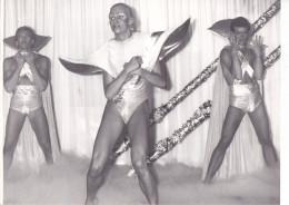5- SUEDE SWEDEN Stocklom -Drag Show Travesti Transsexuel Cross-dresser - Vers 1982 -gay Homosexualité -ph Karin Tornblom
