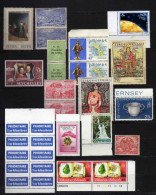 Timbres Divers X - 2 Scans - Timbres