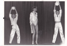 6- SUEDE SWEDEN Stocklom -Drag Show Travesti Transsexuel Cross-dresser - Vers 1982 -gay Homosexualité -ph Karin Tornblom - Photos